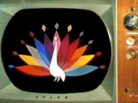nbc peacock 1957