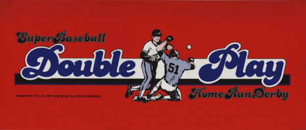 Super Baseball Double Play marquee