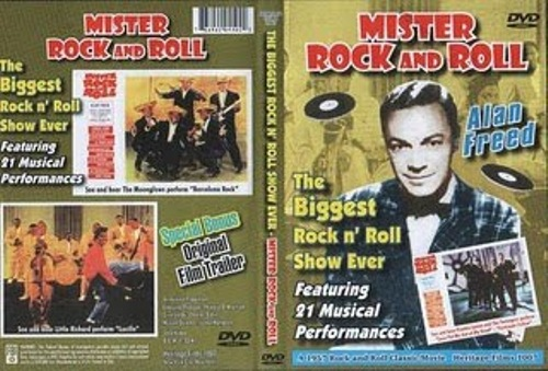 Mr Rock&Roll _ Alan Freed _cover  1957