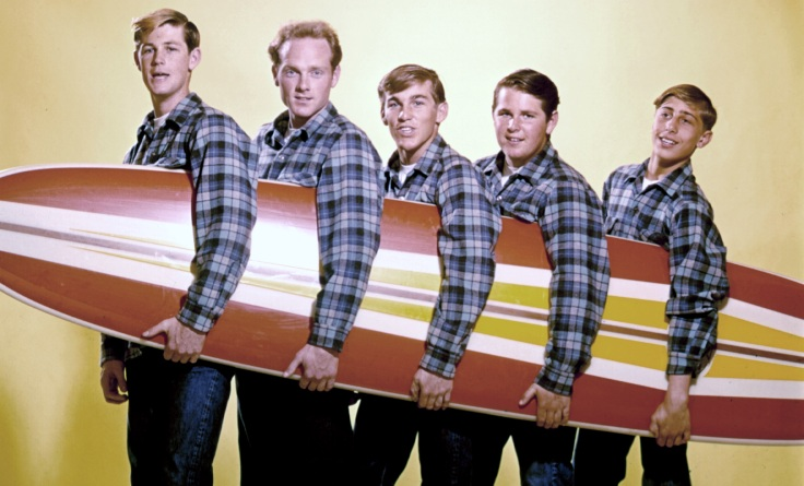 Beach Boys With A Surfboard